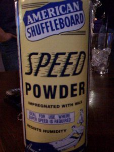 Shuffleboard Powder