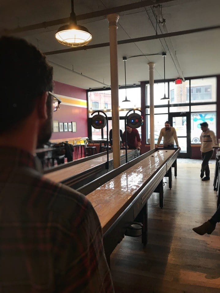 How to Play Shuffleboard at the Bar