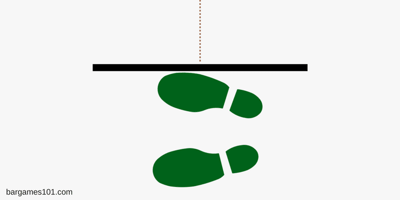 Dart Feet Placement Parallel