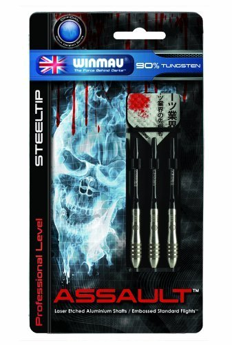 Winmau Assault 90 Tungsten Steel Tip Darts