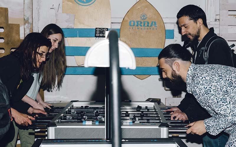 foosball bar game