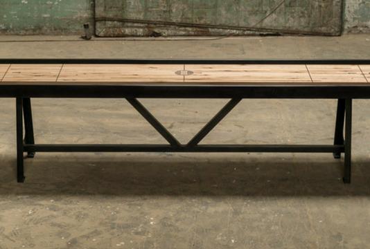 Handmade Custom Shuffleboard Tables