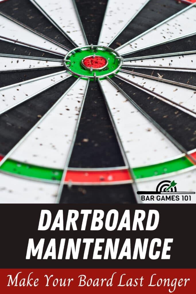 Dartboard-Maintenance