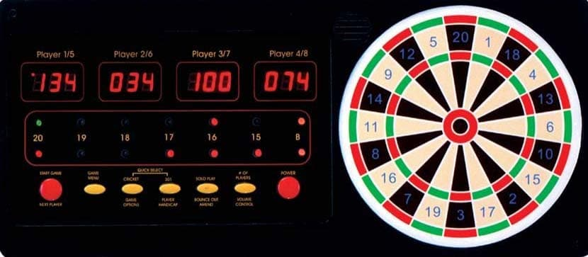 Electronic Dart Scoreboard