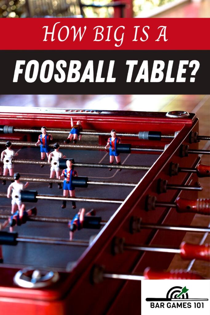 Foosball-Table-Dimensions