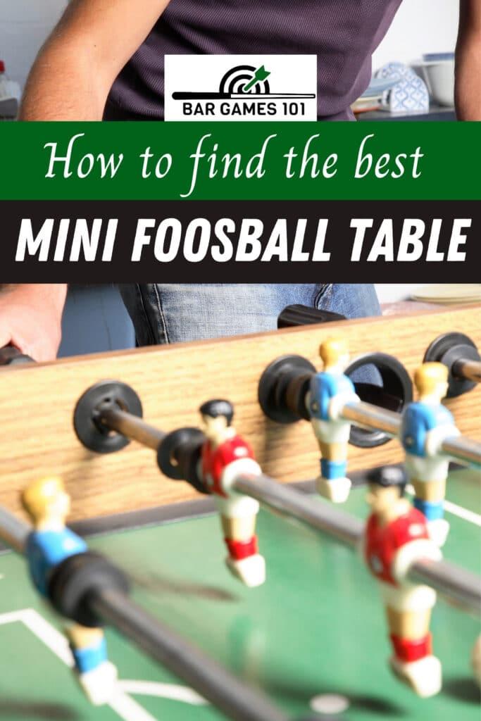 best-mini-foosball-tables