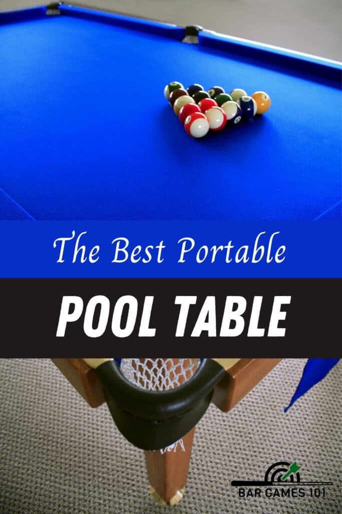 The Best Portable Pool Table A Complete Guide Bar Games 101