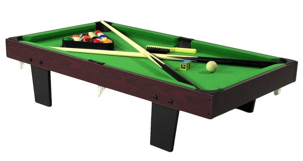 sunnydaze 36 inch mini pool table