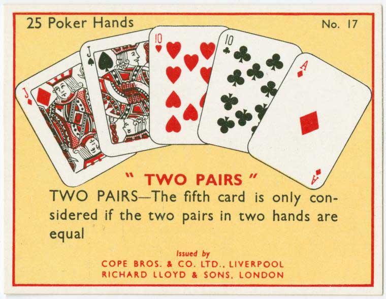2 Pairs Poker Hand