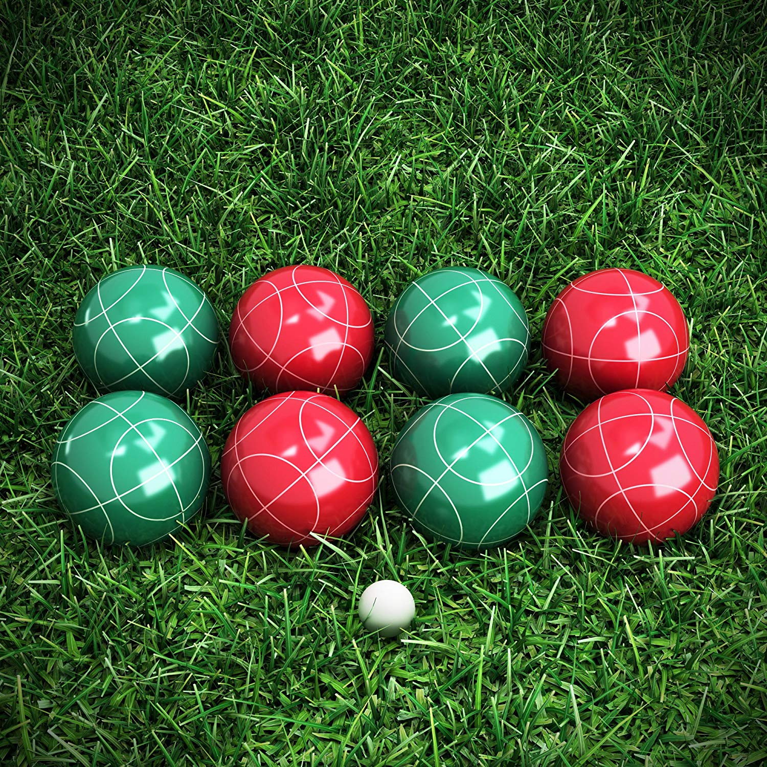 Bocce Ball Set available on Amazon
