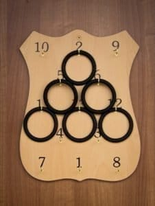Traditional Irish Rings Board
