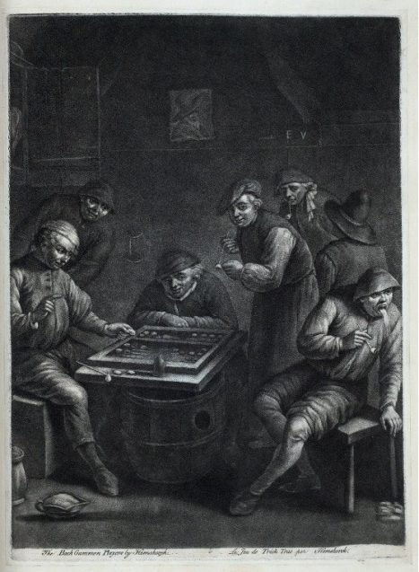 Ye Old Game of Backgammon