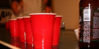 flip cup and slap cup