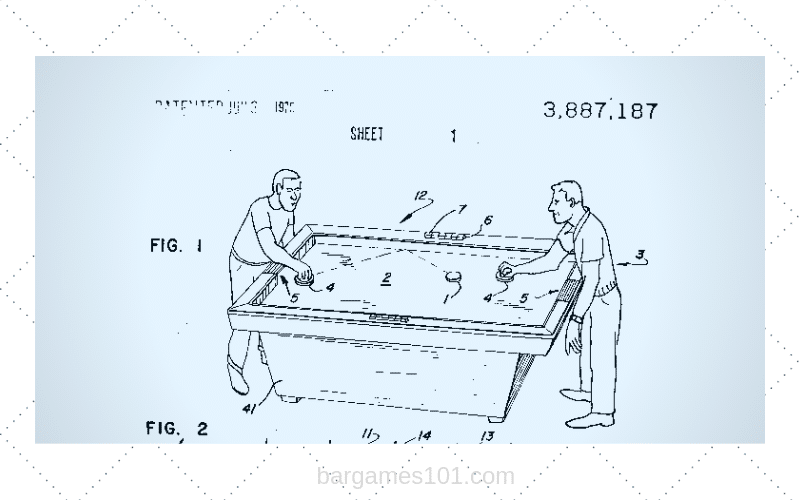 Air Hockey Patent