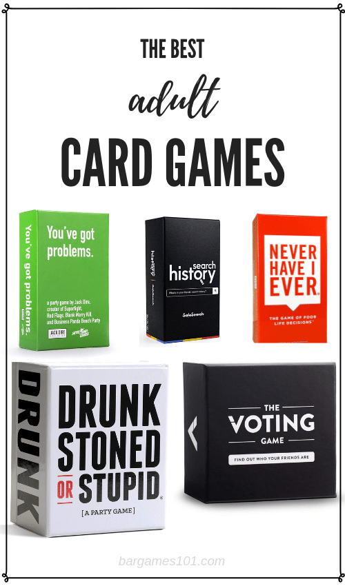 best adult card games