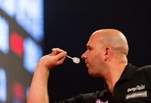 Rob Cross Dart Technique