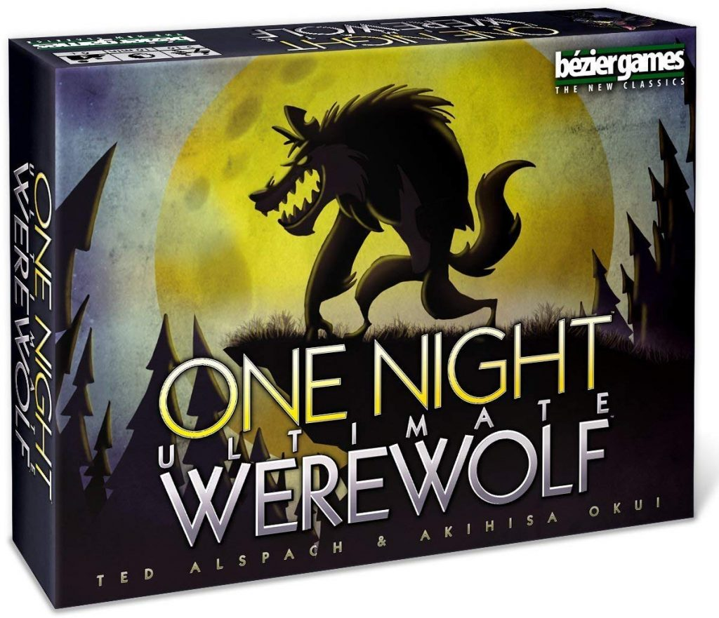 Best Adult Party Board Game One Night Werewolf