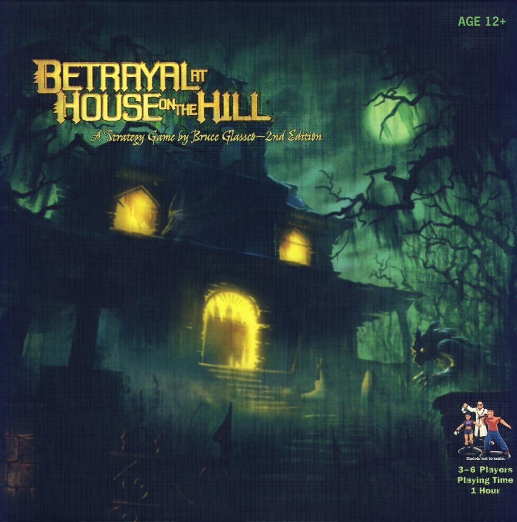 Best Co-op Board Game Betrayal at House on the Hill