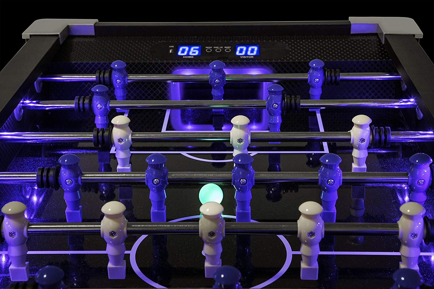 LED Foosball Electronic Scoring