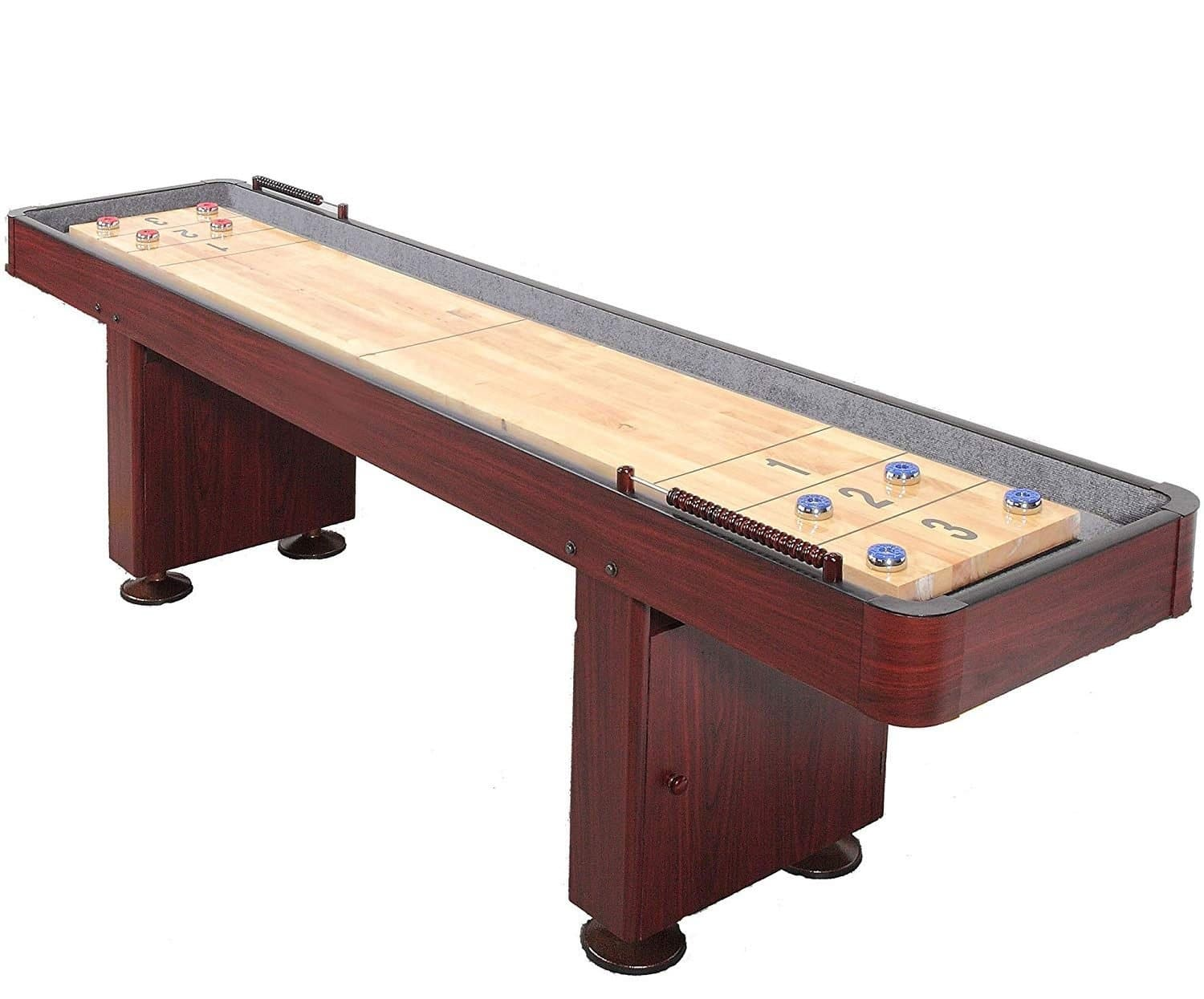 Carmelli Dark Cherry Shuffleboard Table