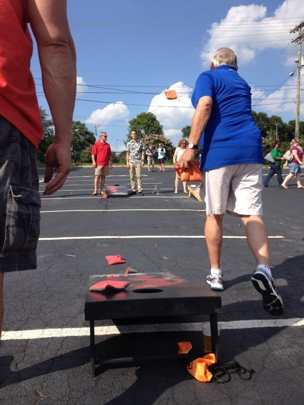 Cornhole for All Ages