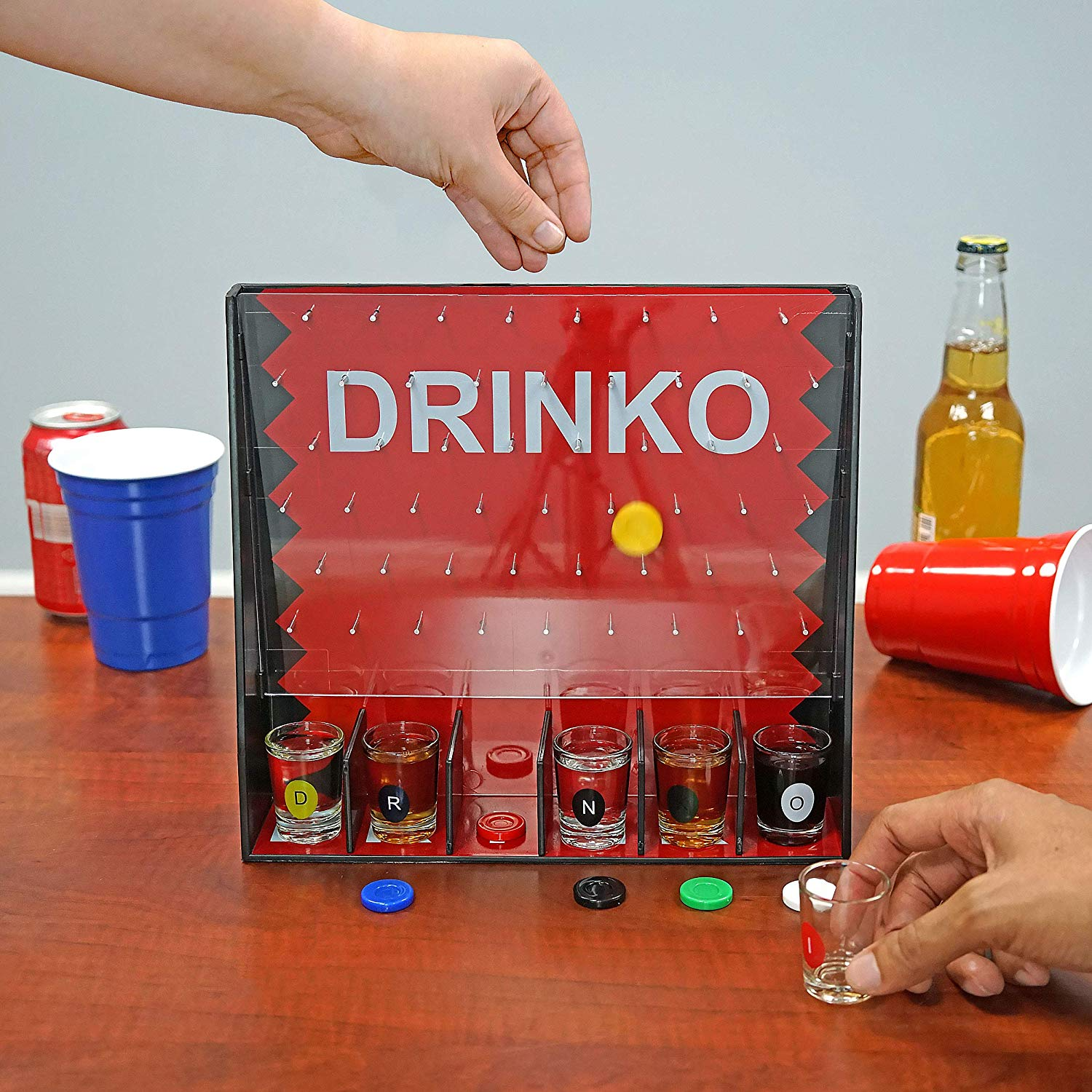 What Is Drinko Plinko Dyi Game Overview Bar Games 101