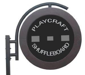 classic electronic shuffleboard table scoring unit