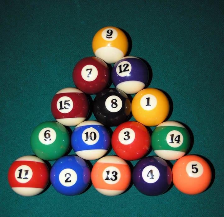 8-Ball Rack