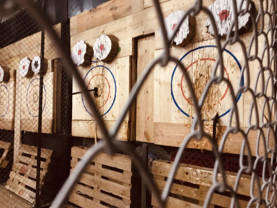 Axe Throwing 101
