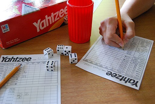 Yahtzee Game Example