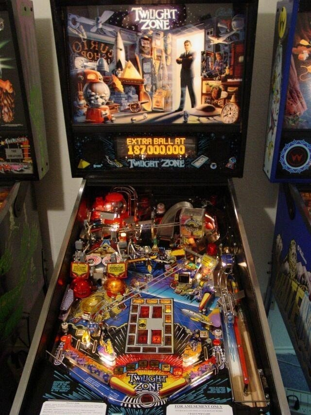 Twightlight Zone Pinball Machine