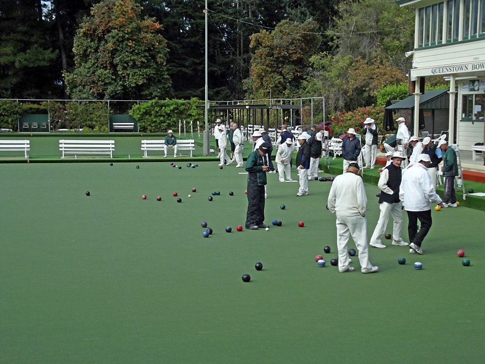 Lawn Bowling Match