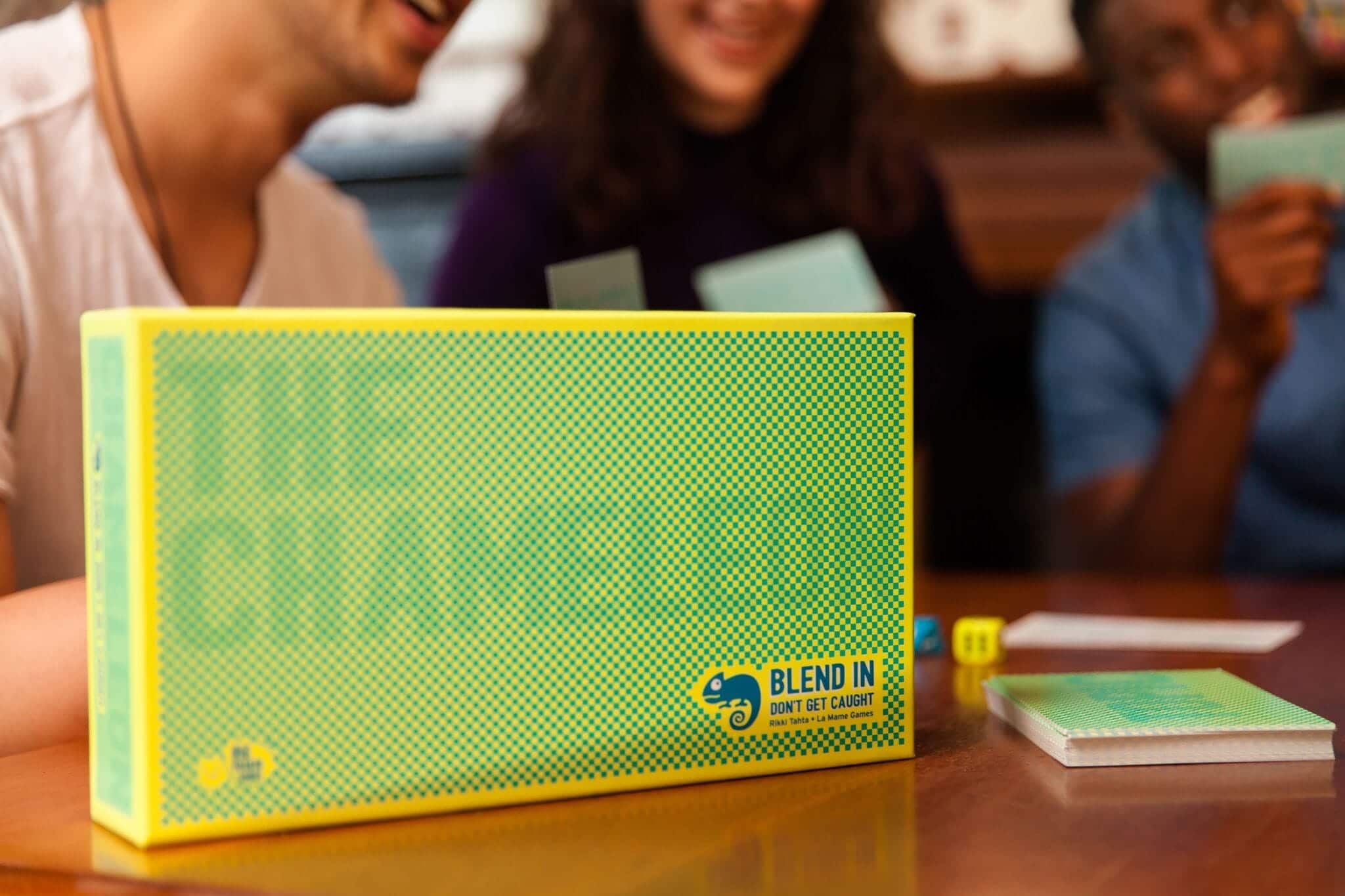 Chameleon Card Game Box