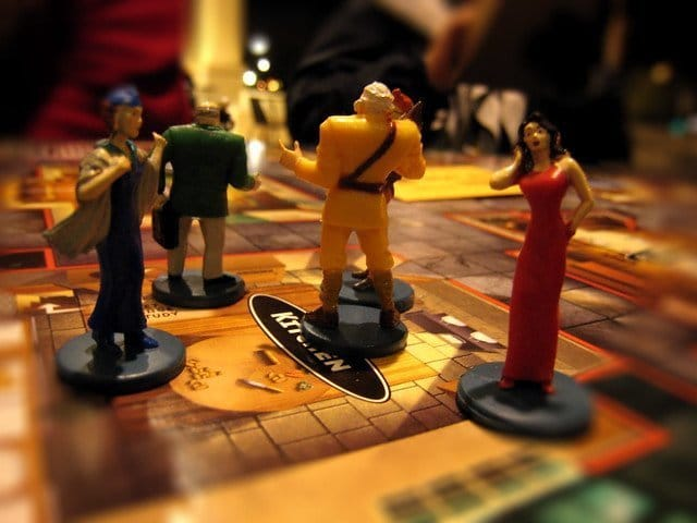 Clue Mystery Board Game