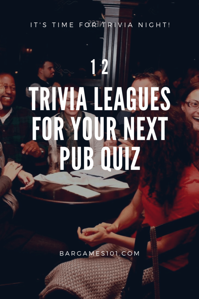 it's time for trivia night!