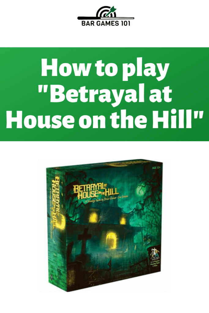 Betrayal at House on the Hill: Rules Overview