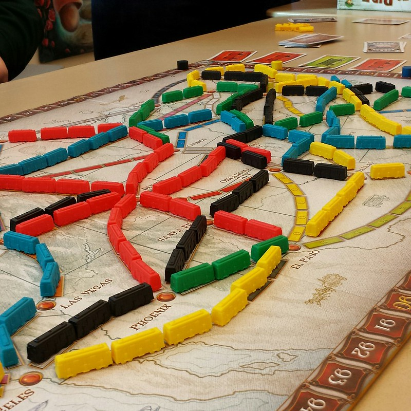 The Journey Begins - Ticket to Ride