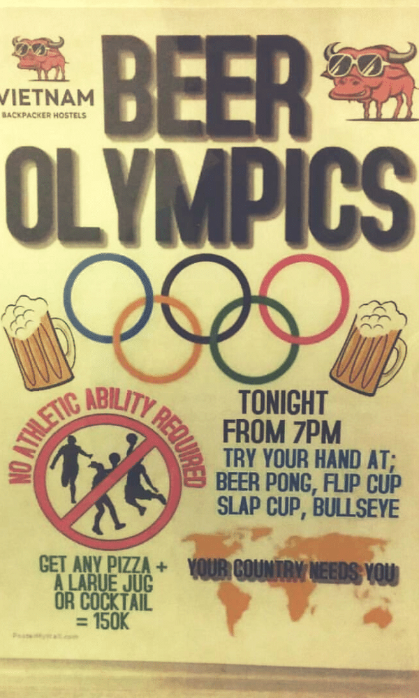 Tonight's Game_Beer Olympics