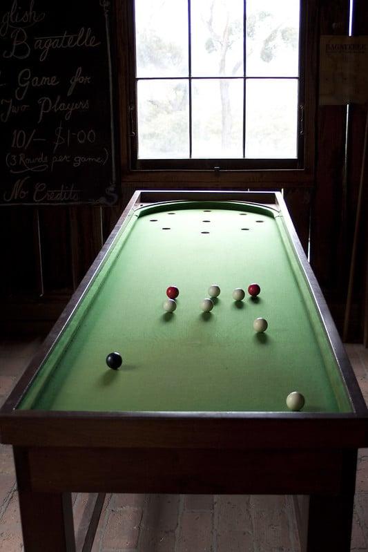 Bagatelle Table