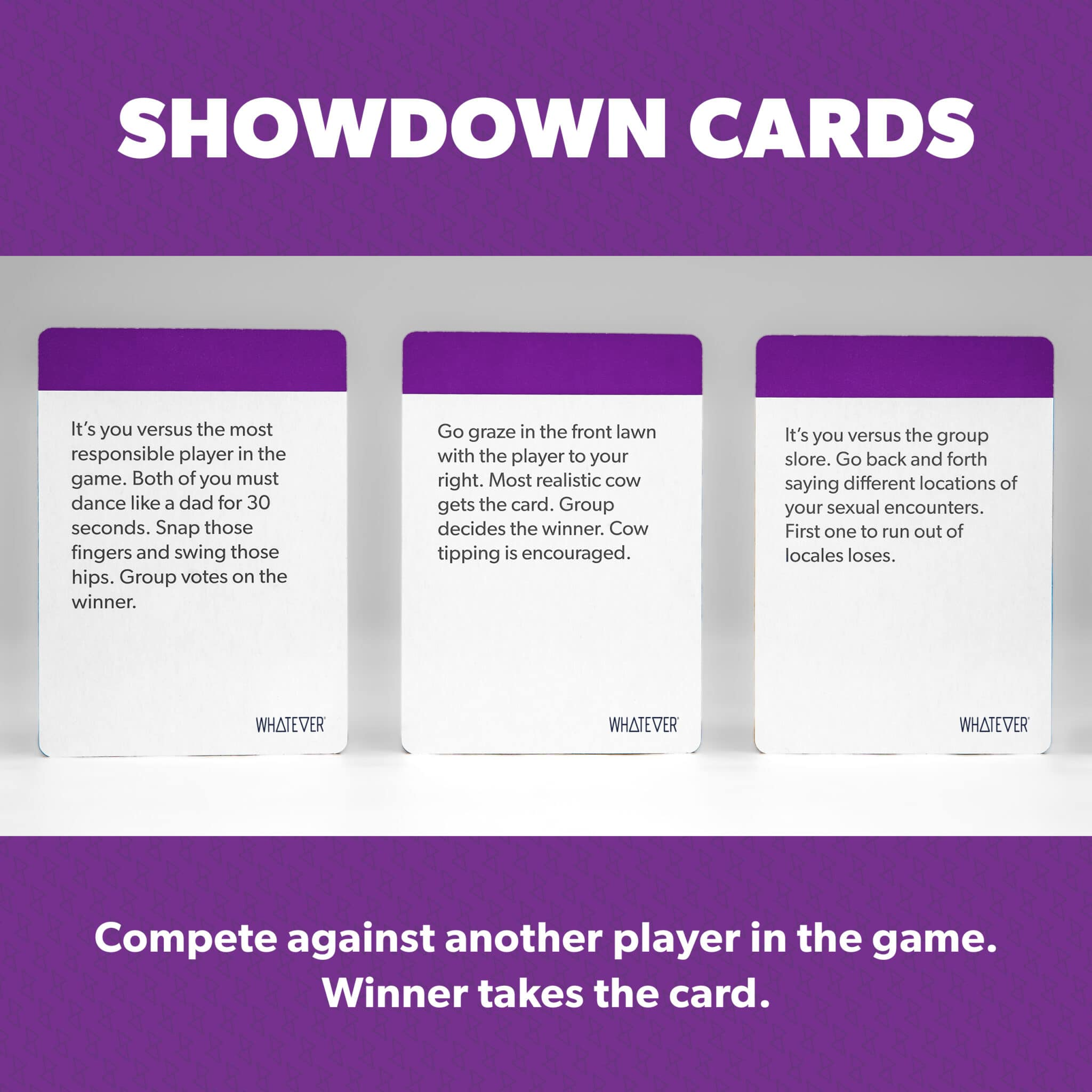 Showdown Cards