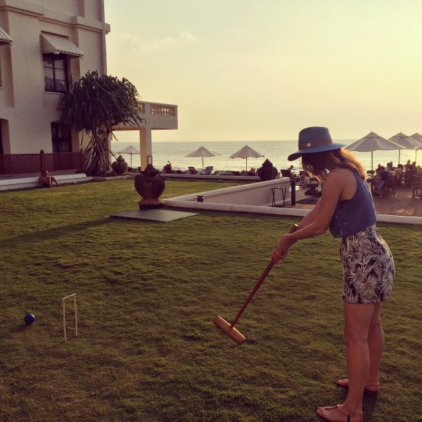 Set Up Your Croquet Court