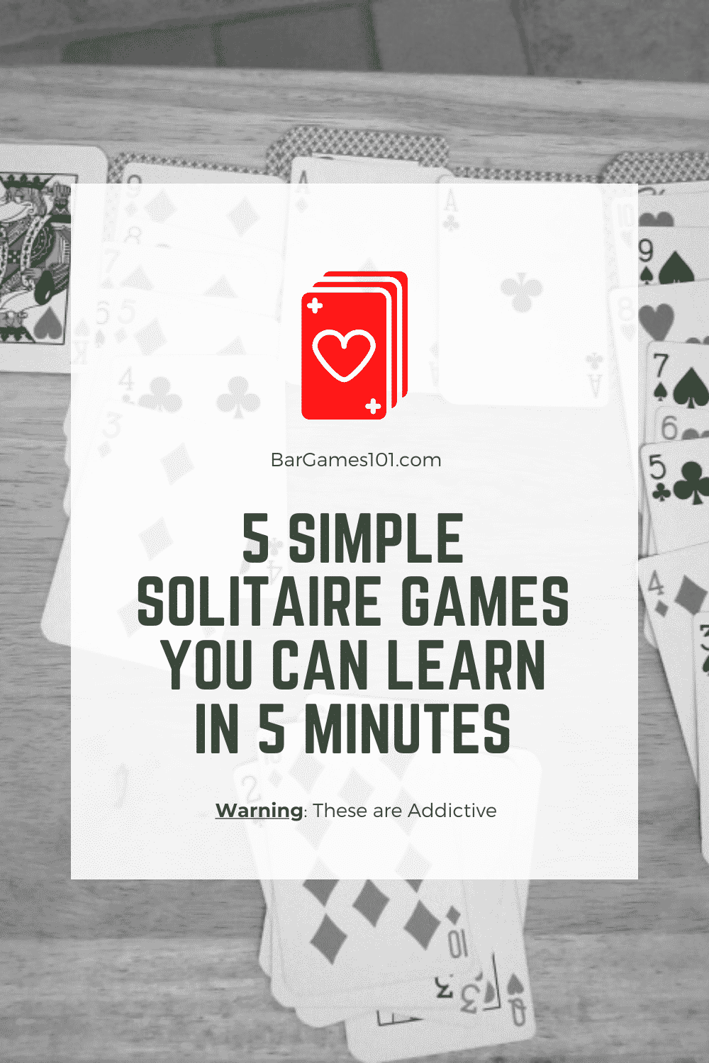 5 Simple Solitaire Games