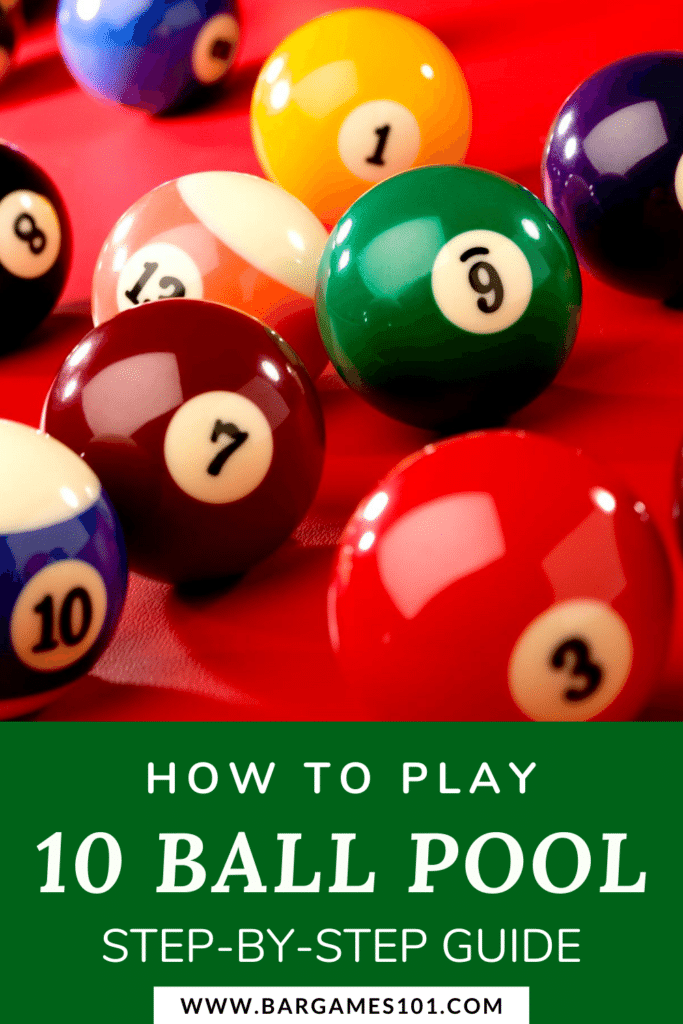 How to Play 10 Ball Pool