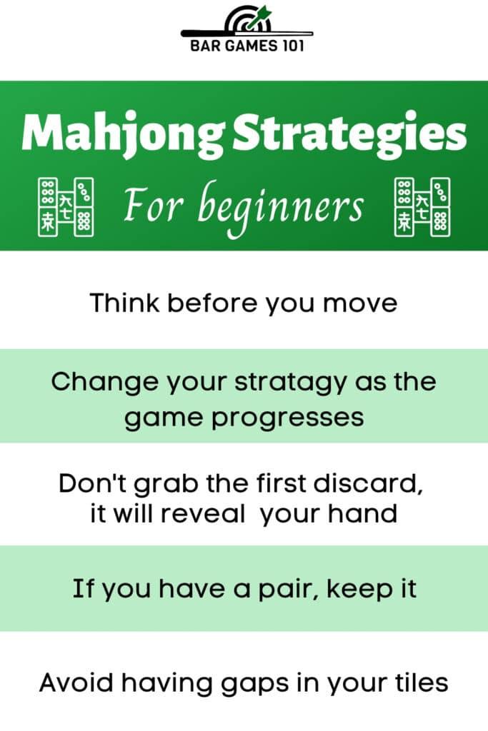 Mahjong Strategies Pin