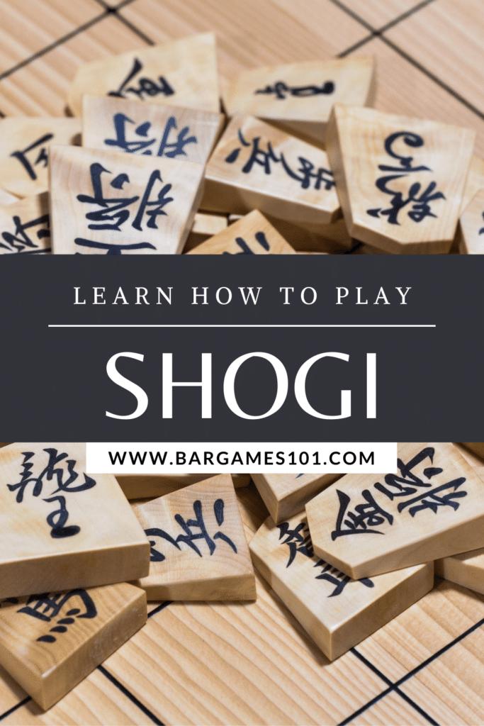 How to Play Shogi