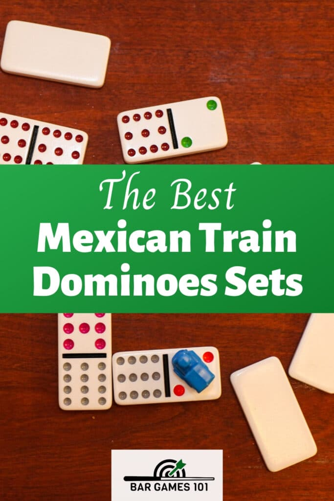 mexican train dominoes sets