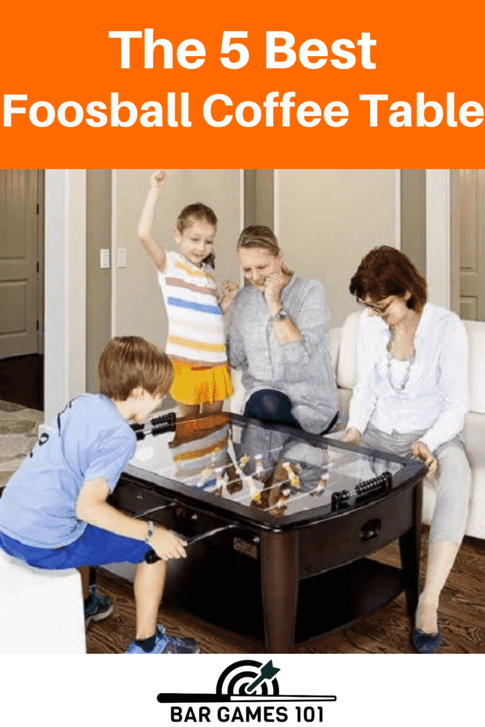 The 5 Best Foosball Coffee Table Reviews