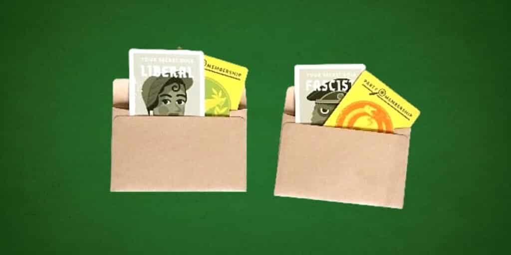 Secret Hitler envelope