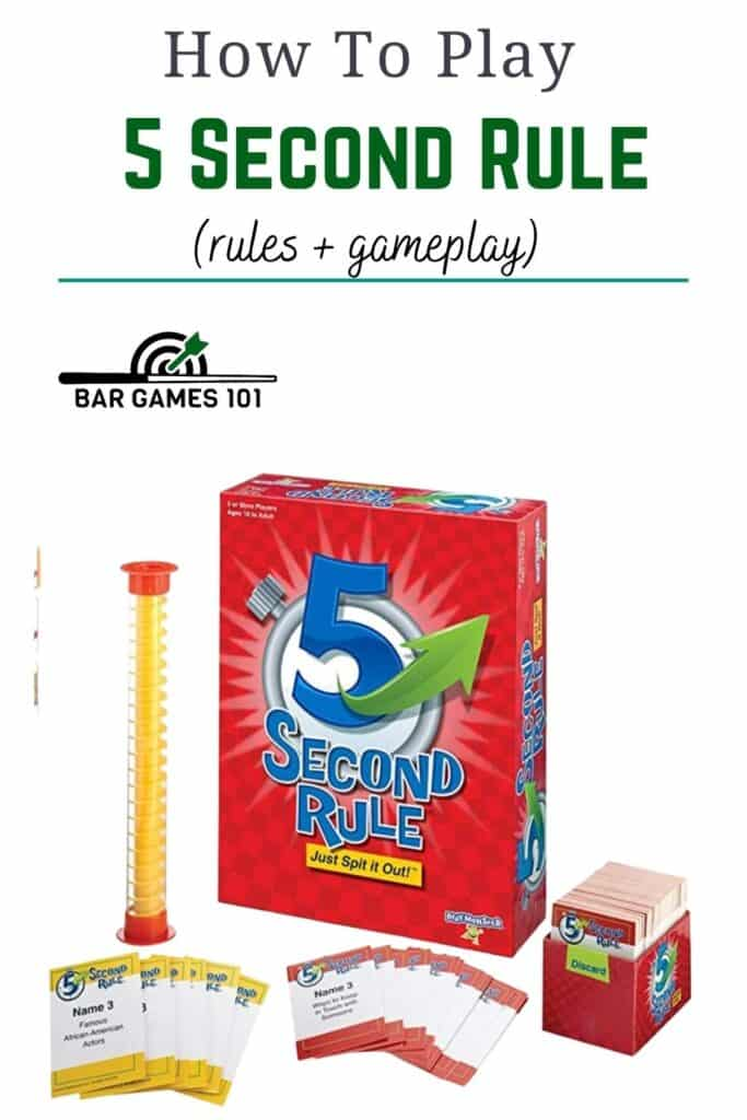 5 Second Rule Rules and Gameplay