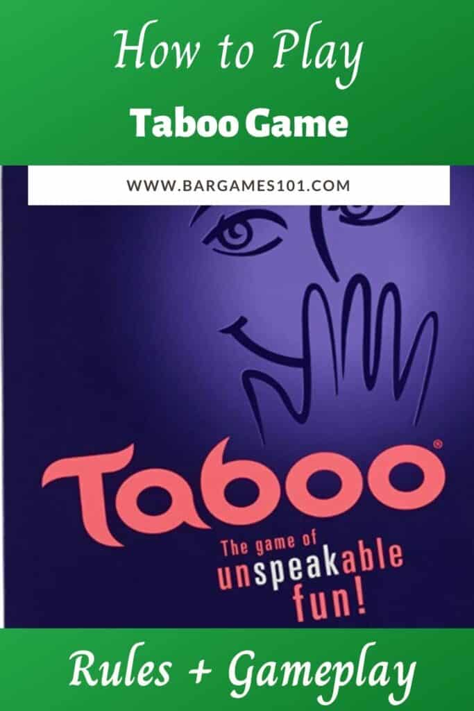Taboo Rules and Gameplay